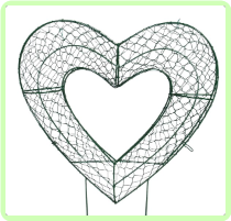 Heart Topiary Frame
