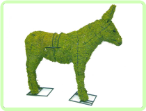 Donkey Animal Topiary Frame