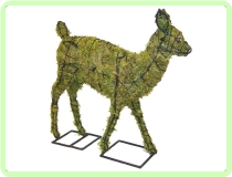 Fawn Animal Topiary Frame