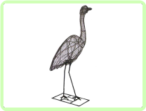Heron Animal Topiary Frame