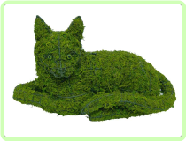 Cat, Lying Animal Topiary Frame