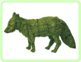 Fox Animal Topiary Frame