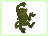 Monkey, Funky Animal Topiary Frame