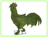 Rooster Animal Topiary Frame
