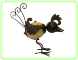 "Chick By George 10"" Animal Topiary Frame"