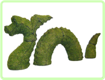 Nessie Aquatic Animal Topiary Frame
