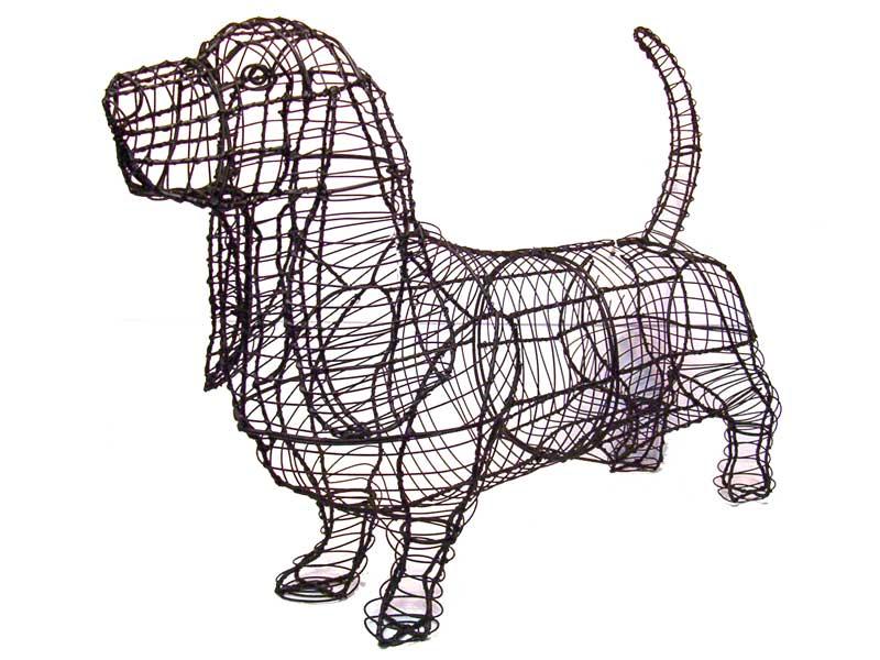 Basset Hound Animal Topiary Frame