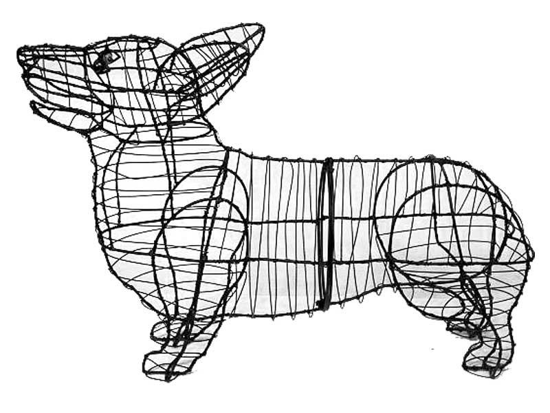 Corgi Animal Topiary Frame