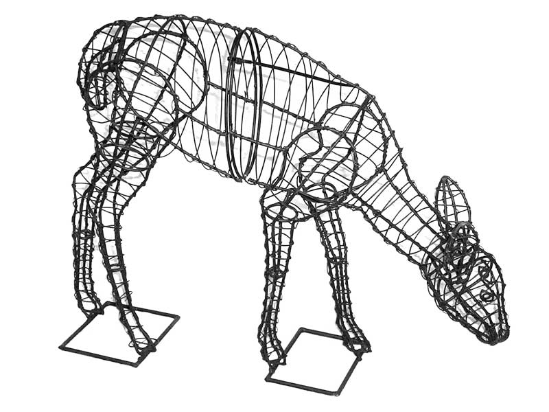 Doe Animal Topiary Frame