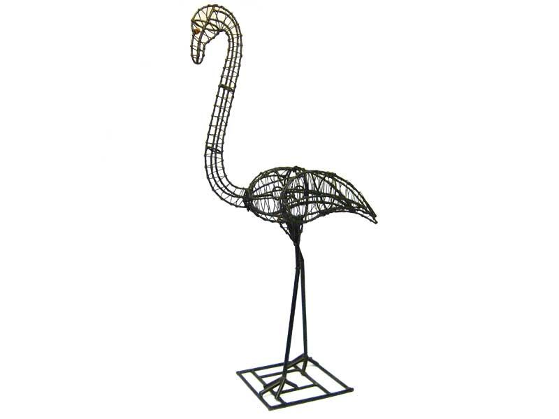 Flamingo Animal Topiary Frame