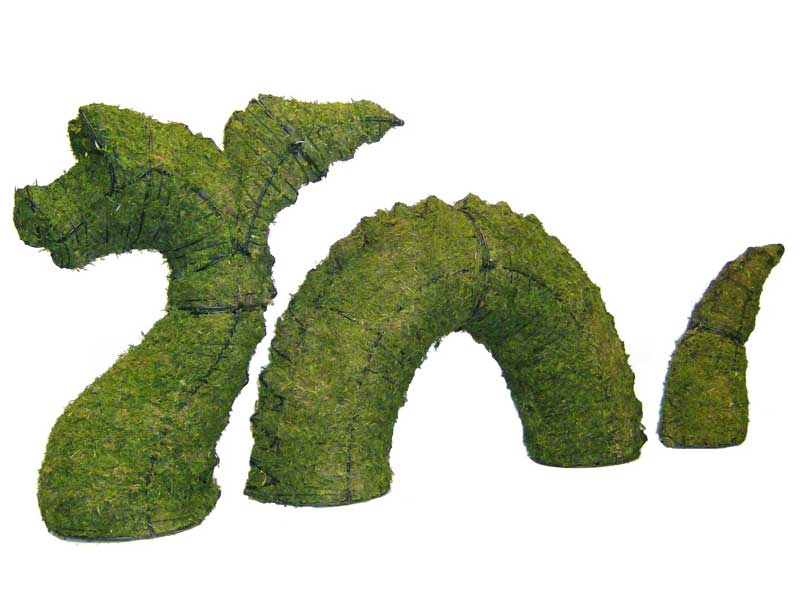 Ordinary How To Make Topiary Animals Part - 13: Nessie Aquatic Animal Topiary Frame